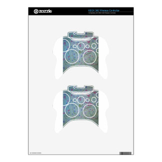 floral magic of love and creation sketch xbox 360 controller decal