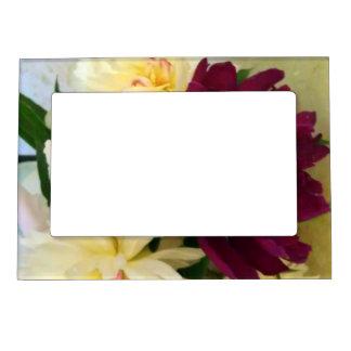 Floral - magnetic frame