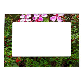 FLORAL MAGNETIC PICTURE FRAME (PHOTOG)
