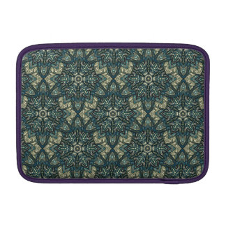Floral mandala abstract pattern design MacBook air sleeve