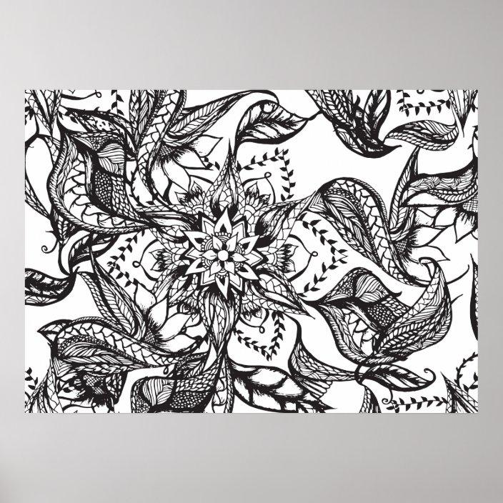 Floral Mandala Coloring Page • FREE Printable eBook | Mandala ... | 704x704