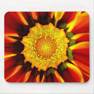 Floral Mandala Mouse Pad