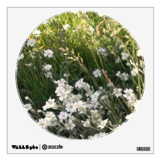 Floral Meadow Decal Room Sticker
