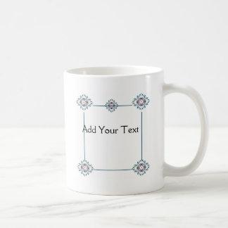 Floral Medallion Coffee Mug