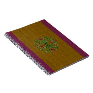 Floral Medallion Journal Notebook