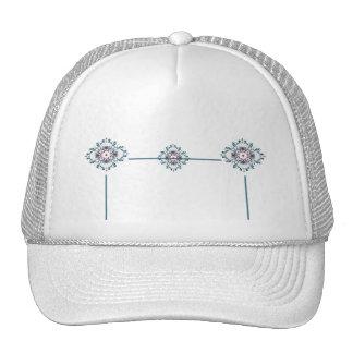 Floral Medallion Trucker Hat