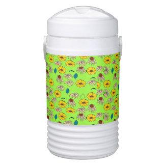 Floral mélange lime green Igloo cooler Igloo Beverage Cooler