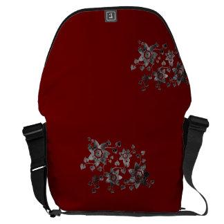 Floral Messrnger Bag Courier Bags