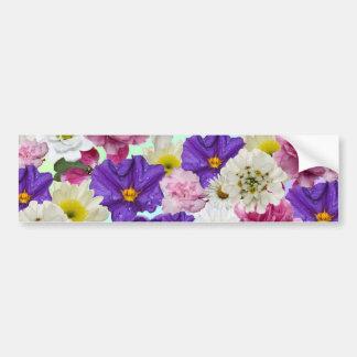 Floral Mix Bumper Sticker