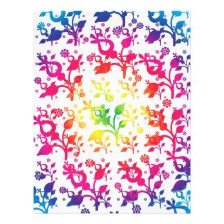 Floral mix flyer design