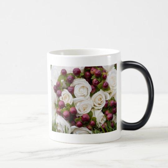 floral mix magic mug