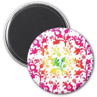 Floral mix magnets