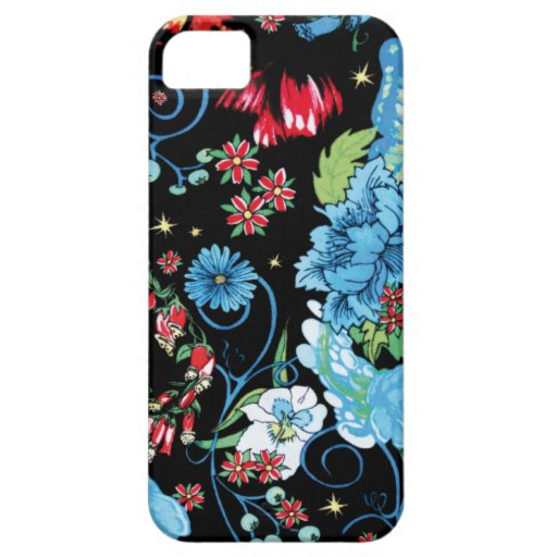 Floral Mix Pattern iphone5 case iPhone 5 Cases