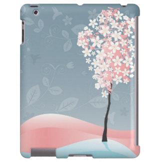 Floral moderno funda para iPad