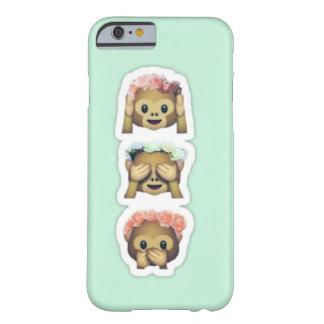Floral Monkey Emojis Case