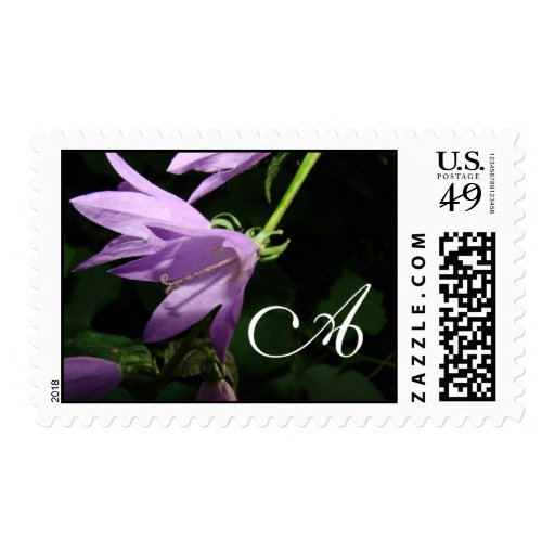 Floral Monogram template Stamps