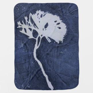 Floral Monoprint 17031432B Medium Fleece Blanket
