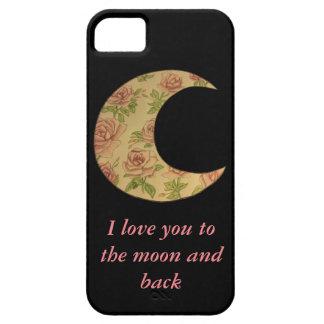 Floral Moon iPhone SE/5/5s Case