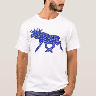 Floral Moose T-Shirt