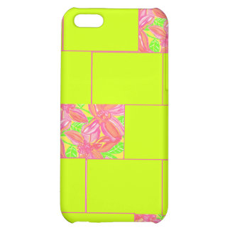 Floral Mosaic iPhone 5C Cover