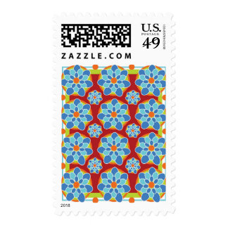 Floral Mosaic Stamps