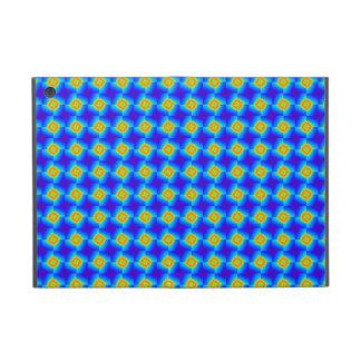 Floral Mosaic Tile Orange Blue Pattern Gifts iPad Mini Case
