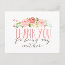Floral Mother Thank You