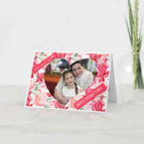 Floral Mother's Day Photo Card for Daughter