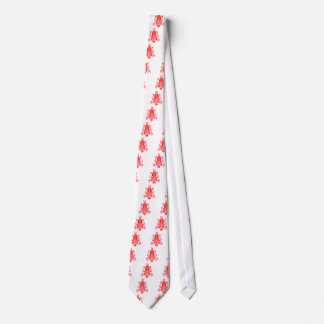 Floral motif from romanian. neck tie