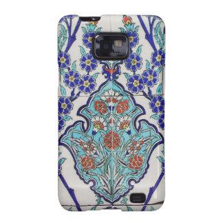Floral Motives Samsung Galaxy SII Case