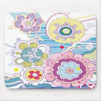 Floral Mousepad mousepad