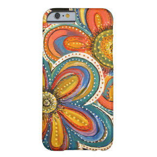 floral multicolor de IMG_2462.jpg Funda Para iPhone 6 Barely There