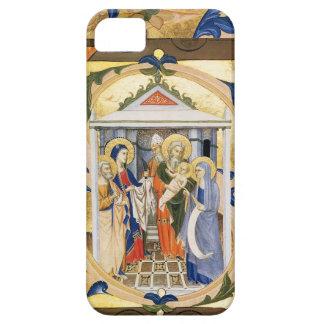 FLORAL NATIVITY CHRISTMAS PATCHMENT iPhone 5 CASE