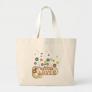 Floral Nature Lover Canvas Bags