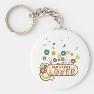 Floral Nature Lover Keychains