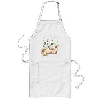 Floral Nature Lover Long Apron
