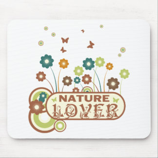Floral Nature Lover Mouse Pad