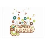 Floral Nature Lover Postcard