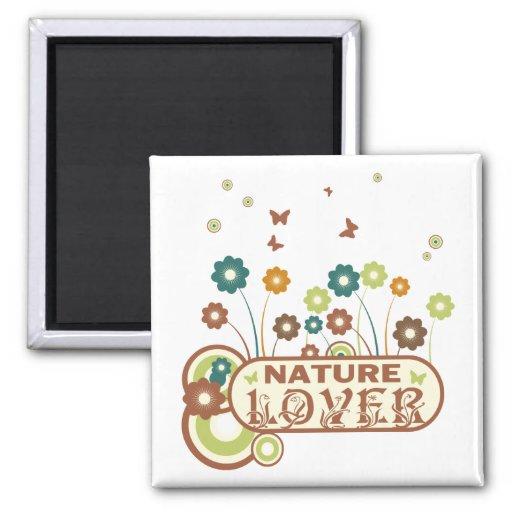 Floral Nature Lover Refrigerator Magnets
