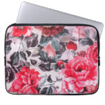Floral Neoprene Laptop Sleeve 13 inch