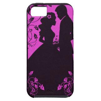 Floral nupcial - rosa iPhone 5 Case-Mate coberturas