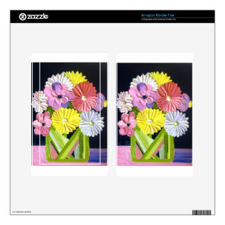 Floral Oil Painting #1 Kindle Fire Skins