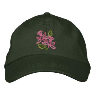 Floral Openwork Cap