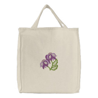 Floral Openwork Tote