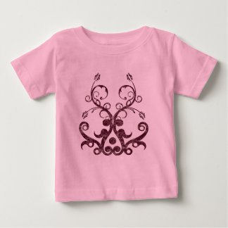 Floral Orament Baby T-Shirt