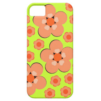 Floral Orange Products iPhone 5 Cases