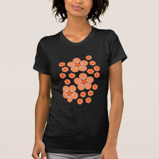 Floral Orange Products Tshirts