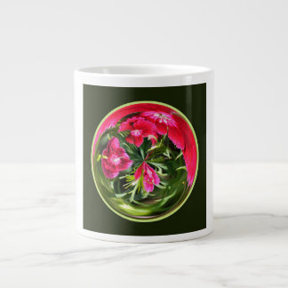 Floral Orb White Mug