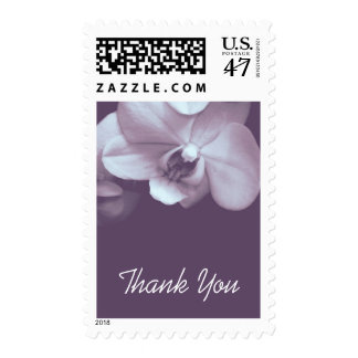 Floral Orchid 3 Sympathy Thank You Postage