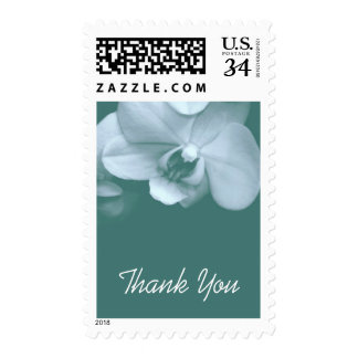 Floral Orchid 5 Sympathy Thank You Postage